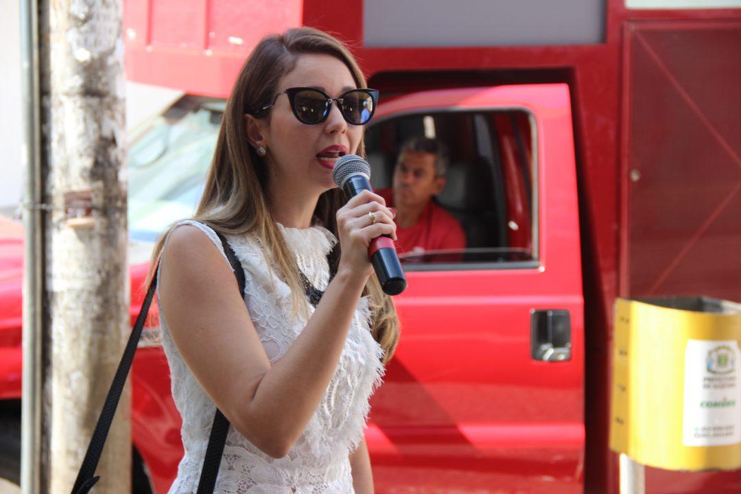 A advogada do SindMetal-GO, Maria Eugênia Neves, também participou do Movimento